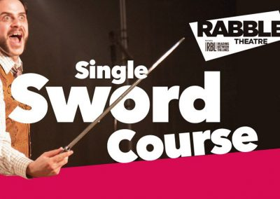 Single Sword Stage Combat Course