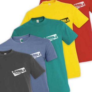 RABBLE T-Shirt - (Small logo)