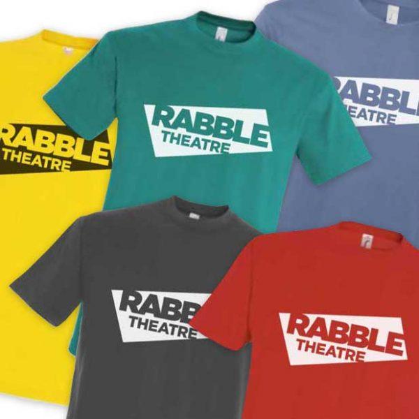 RABBLE T-Shirt - (Large logo)
